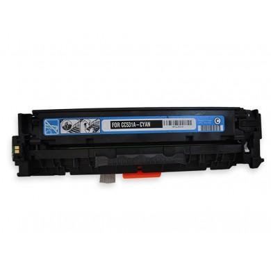 Printrite OEM PREMIUM T-CART CC531A/118/318/718 Cyan (2800p.) (HP Color LaserJet CP2020/CP2025/CP2025n/CP2025dn/CP2025x/CM2320; CANON imageCLASS MF8330C/MF8350Cdn; CANON i-SENSYS LBP-7200Cdn)