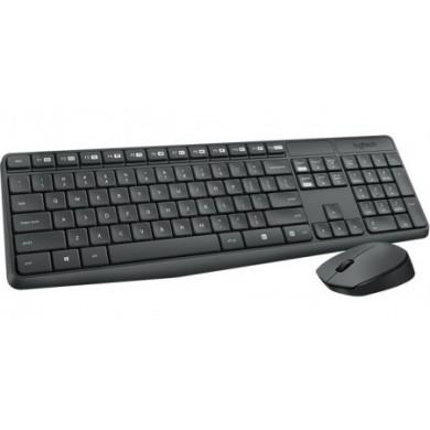 Logitech Wireless Combo MK235, Keyboard & Mouse, USB, Retail