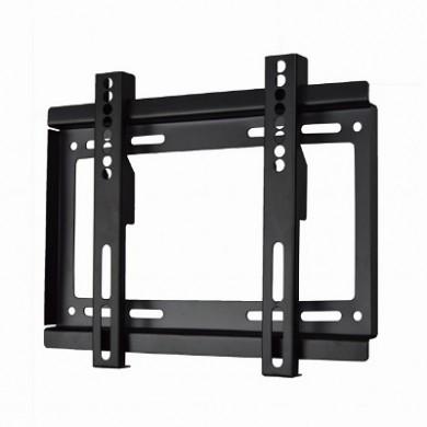 "TV-Wall Mount for 17-37""- Gembird ""WM-37F-01"", Fixed, max. 25 kg, Distance TV to Wall: 24 mm, max. VESA 200 x 200, Black"