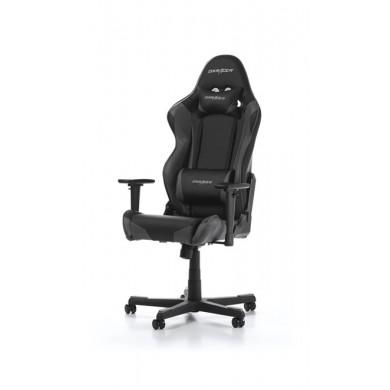 Fotoliu Gaming DXRacer Racing GC-R001-NG-W1 / 150kg / 165 - 195cm / Black/Grey
