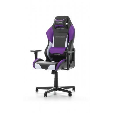 Fotoliu Gaming DXRacer Drifting GC-D61-NWV-M3 / 150kg / 145-175cm / Black/White/Violet