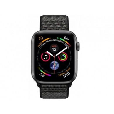 Apple Watch Series 4 44mm Smartwatch (GPS Only, Space Grey, Black Sport Loop)