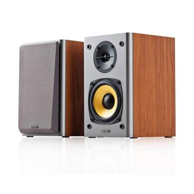 "Edifier R1000T4 Brown, 2.0/ 24W (2x12W) RMS,  Audio in: 2x RCA, wooden, (4""+1/2"")"