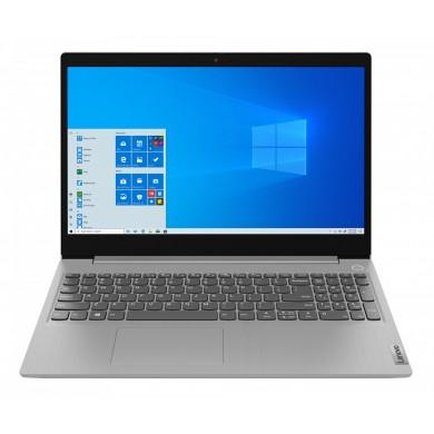 "Laptop 15.6"" Lenovo IdeaPad IP 3 15IML05 / Core i3 / 8GB / 256GB SSD / MX130 / Platinum Gray"