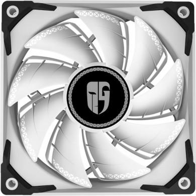 "120mm Case Fan - DEEPCOOL Gamer Storm TF series ""TF 120S WHITE"", 120x120x25mm, 500-1800rpm, <17.6~31.3dBa, 64.4 CFM, Hydro Bearing, Radiator fan, 4Pin, PWM, MTBF >40000 hours,White"