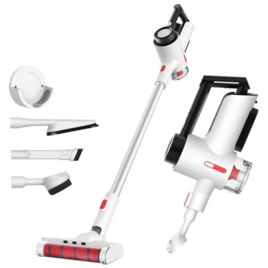 """XIAOMI """"Deerma VC40"""" EU, White, Handhold Cordless Vacuum Cleaner, Suction 250AW, 3 brush heads, Clean 200m2 on a full charge, Hepa filter system, 2.5kg"""