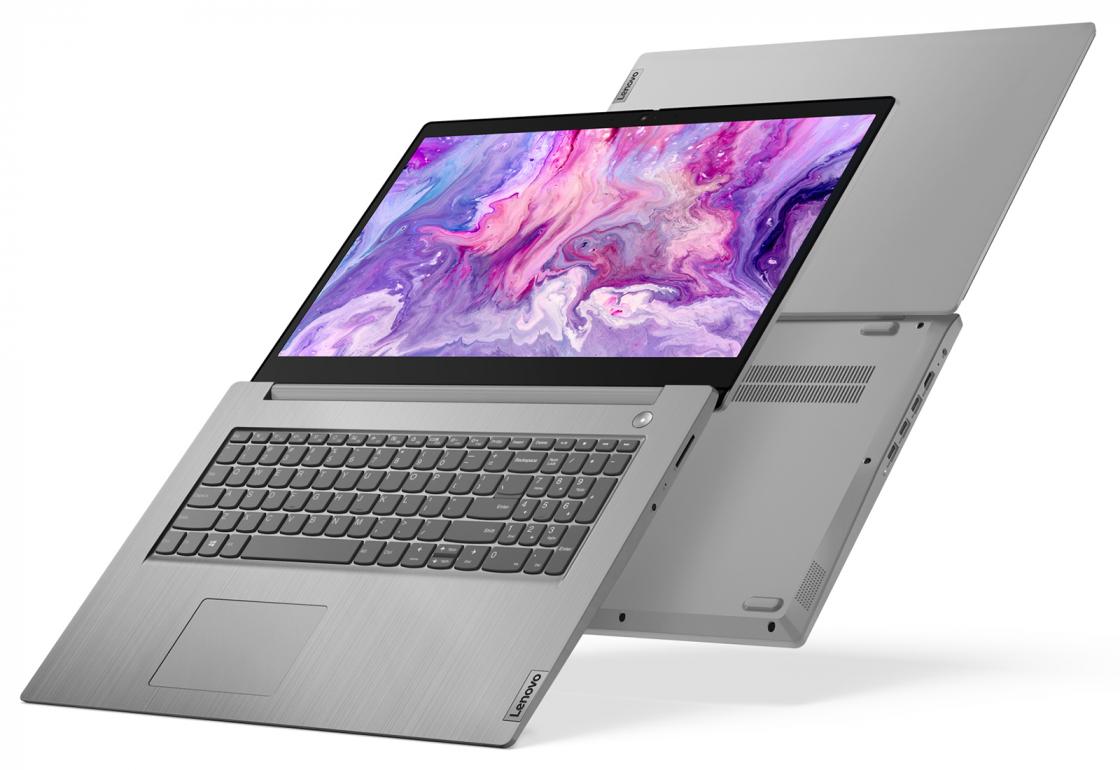 """Laptop 15.6"""" IdeaPad 3 15IML05 /Intel Core i3 / 4GB / 256GB SSD / MX130 / Platinum Grey"""