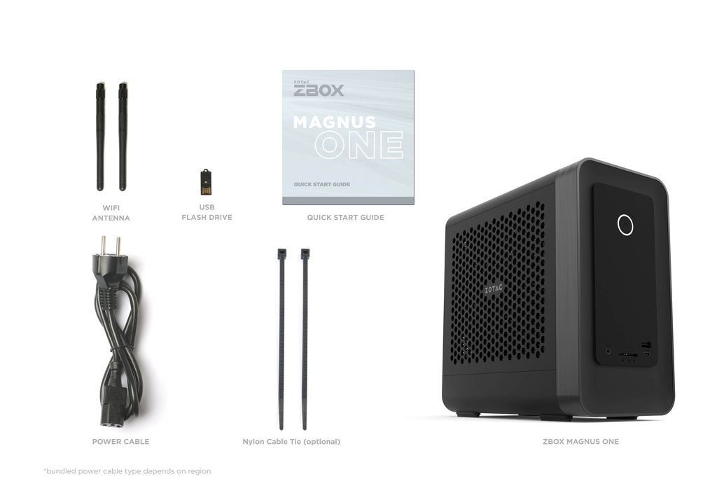 Mini PC (Barebone) ZOTAC Magnus One ECM53060C  / Intel Core i5 / RTX3060 / Black